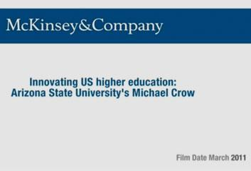 Innovating US Higher Education